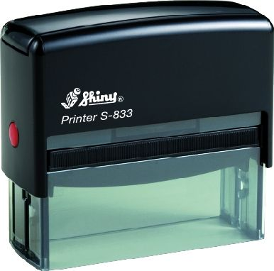 AUTOMATIC RECTANGULAR STAMP SHINY S-832