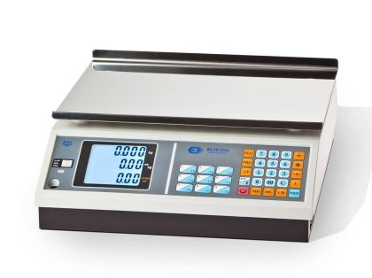 WEIGHING SCALE EVL+ xx PE5 with HORIZONTAL DISPLAY