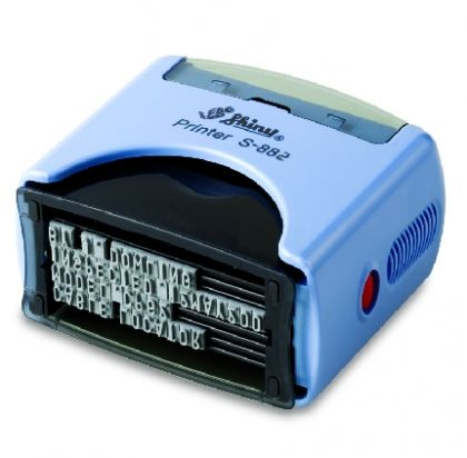 SELF ORDERING AUTOMATIC STAMP SHINY S-883 size 18x47 mm