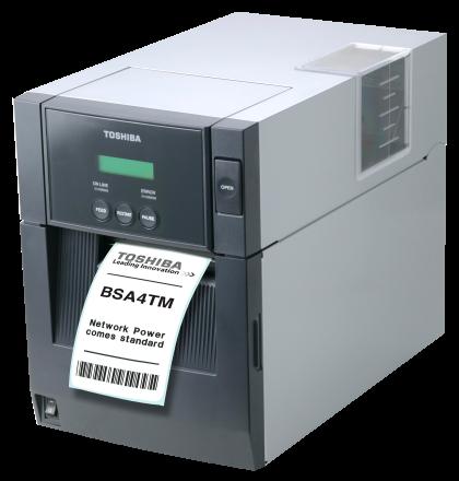 Label barcode printer TOSHIBA B-SA4TM
