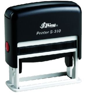 AUTOMATIC RECTANGULAR STAMP SHINY S-308