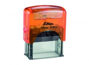 AUTOMATIC  STAMP SHINY S-841L size 10x30 mm