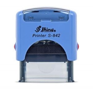 AUTOMATIC STAMP SHINY S-842 size 14x38 mm