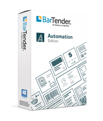BarTender Automation Label Design Software 2021, 2 printers