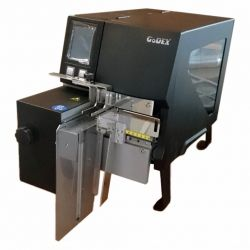 Godex Label Printer ZX1300i with the Godex Cutter Stacker