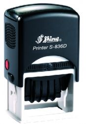 AUTOMATIC DATER SHINY S-836D size 30x45 mm