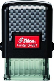 АВТОМАТИЧЕН  ПЕЧАТ  SHINY S-851 размер 10x26 mm