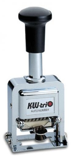 AUTO NUMBERING METALLIC STAMP KW - trio