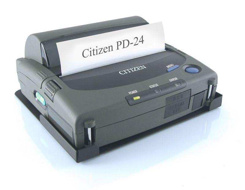 PORTABLE PRINTER CITIZEN PD24