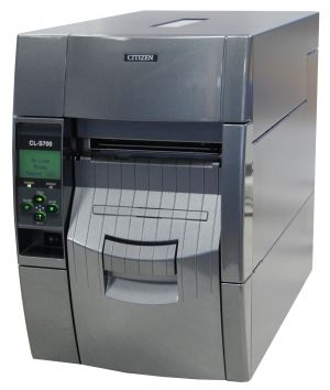 LABEL BARCODE PRINTER CITIZEN CL-S700R WITH REWINDER MODULE