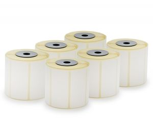 DIRECT THERMAL SCALE LABELS, THERMAL ECO, 56x25 mm, 6 rolls x 600 labels