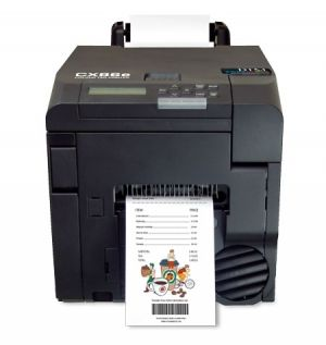DTM CX86e COLOUR LABEL and TAG PRINTER