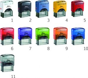 AUTOMATIC RECTANGULAR STAMP SHINY S-841L