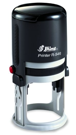 AUTOMATIC ROUND STAMP SHINY R-542
