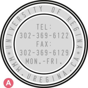 SELF ORDERING AUTOMATIC STAMP SHINY R5842 - diameter 42mm