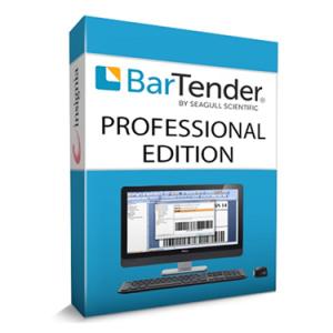 Софтуер за дизайн на етикети BarTender Professional